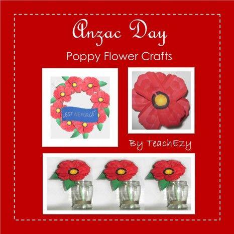 Poppy Craft ANZAC Day