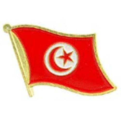 """Tunisia Flag Pin 1"""" by FindingKing. $8.50. This is a new Tunisia Flag Pin 1"""""""