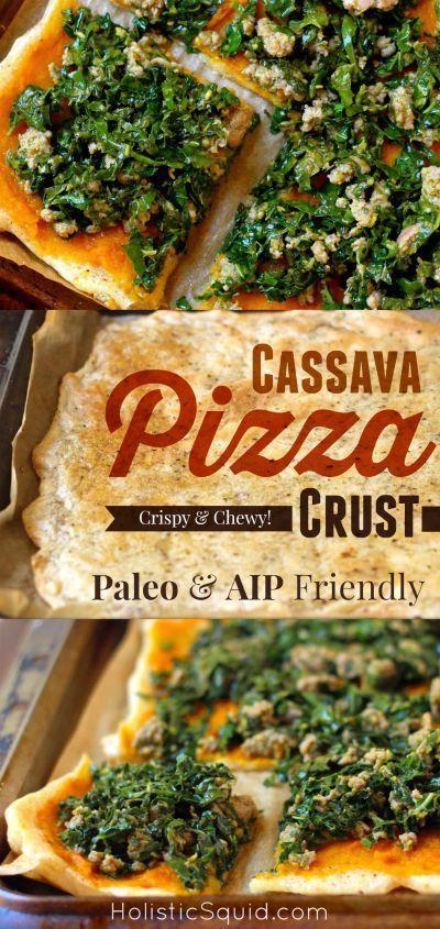 Gluten Free Cassava Pizza Crust - Paleo & AIP Friendly - Holistic Squid