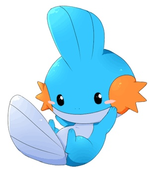Mudkip! It breathes with the gills on its cheeks and sleeps by burying itself in the soil by the water or at the bottom of a river in the mud!