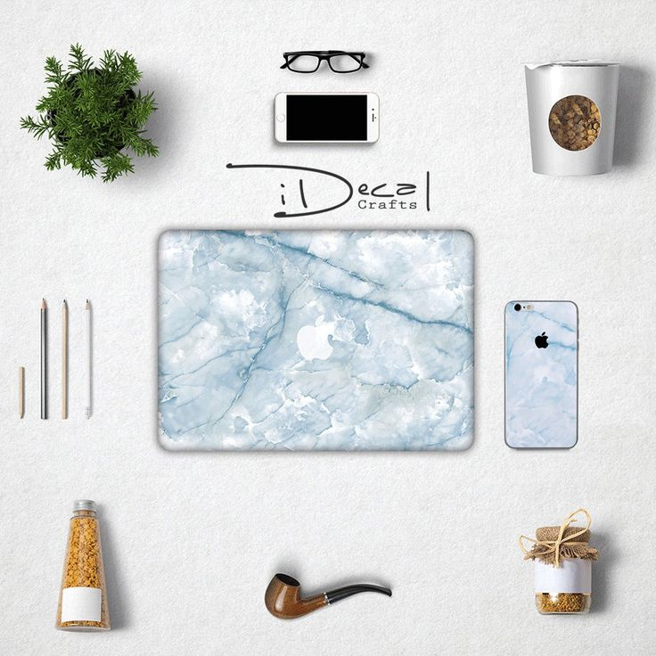 """Blue marble iPhone case and skin decal sticker, Apple Macbook Air 11, Mac Air 13 & Mac Pro 13 Retina, Macbook 12"""", Macbook Pro 15 Retina by idecalCrafts on Etsy"""