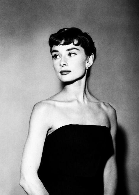 Audrey Hepburn- Flamboyant Gamine – Rose + French + Wind + Mermaid + Royal Ethereal