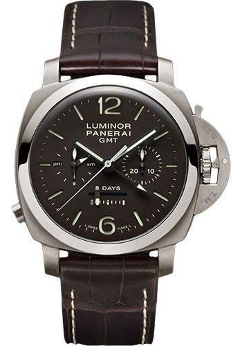 Panerai - Luminor 1950 Chrono Monopulsante 8 Days GMT Watch PAM00311