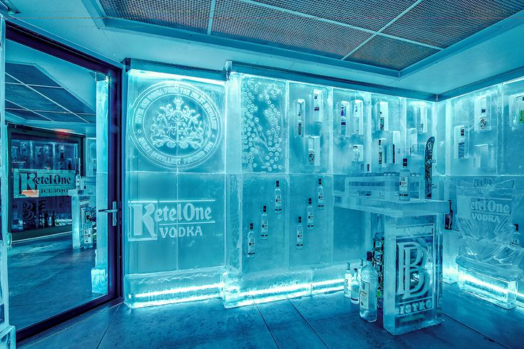 The Ketel One Ice Room.