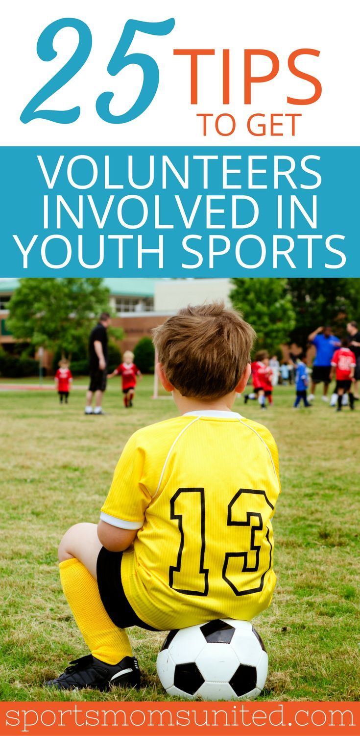Do you struggle with getting volunteers involved with your youth sports team? Here are 25 tips to get and keep active volunteers on your sidelines. Youth sports coaching | youth sports team mom