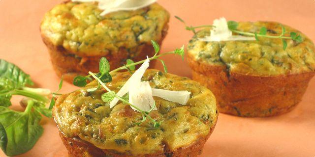 Muffini od sira i špinata