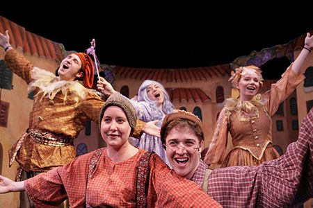 """Love will always find a way. It's never been more true than in """"The Princess and The Pea,"""" to be presented by Virginia Repertory Theatre at Mercer County Community College's Kelsey Theatre on Saturday, Oct. 1, 2016."""
