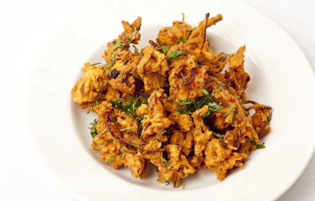 This simply brilliant onion bhaji recipe is from Alfred Prasad, one of Britain's greatest Indian Chefs.