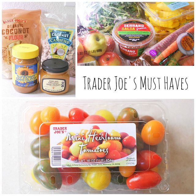 Trader Joe's Must Haves - my favorite Trader Joe's products, the ones I buy every single week.
