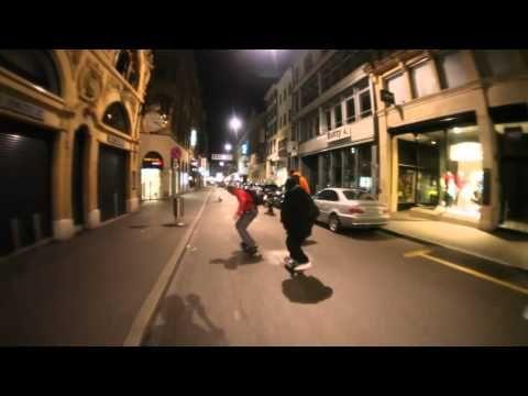 Night Ride #1 - best longboard urban movie - YouTube