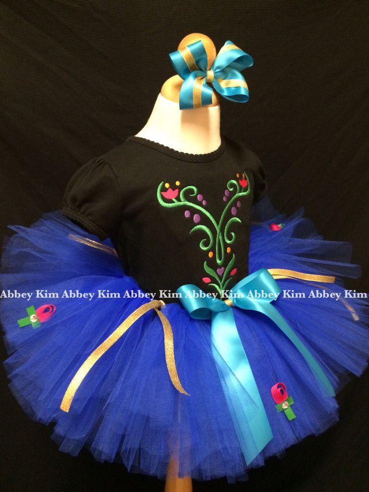 Frozen tutu set Anna black T shirt by Abbeykim1 on Etsy, $40.00