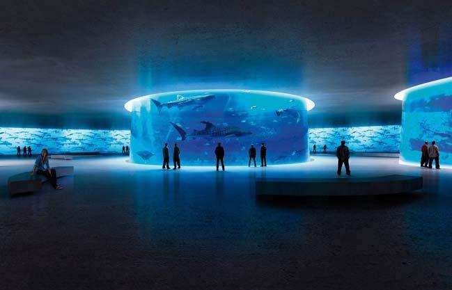 NYC Aquatrium by Lissoni Architecttura