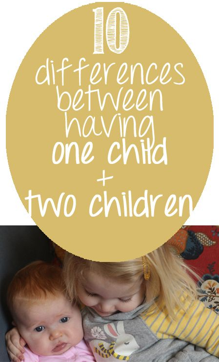 Differences between life and parenting with two children