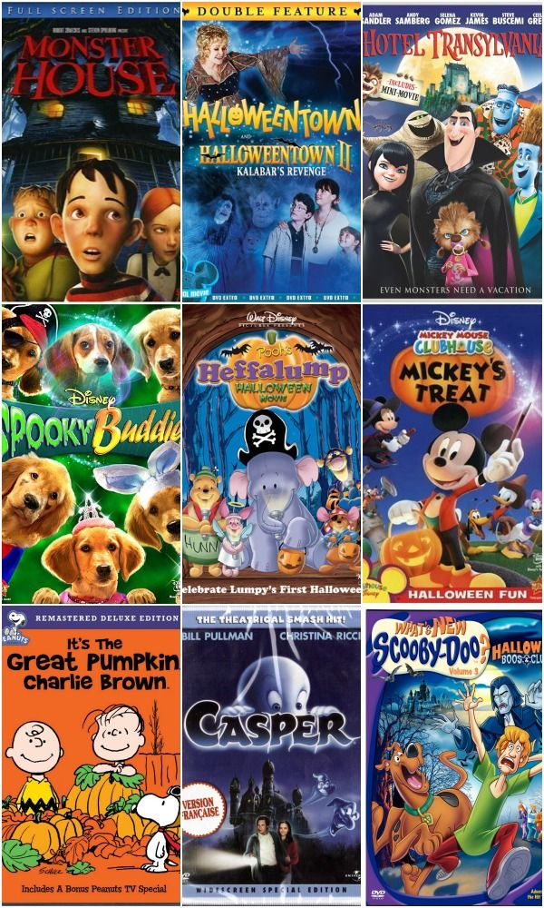 Here's a list of the best kids Halloween movies to scare up some fun this holiday!