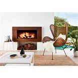 Scandia Corten Steel Fascia To Suit Avante Indoor Wood Heater