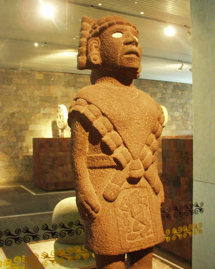 """Mexico - Museo de antropologia - Teteoinnan (aveugle)"" by Éclusette - Own work. Licensed under CC BY 3.0 via Wikimedia Commons - https://commons.wikimedia.org/wiki/File:Mexico_-_Museo_de_antropologia_-_Teteoinnan_(aveugle).JPG#/media/File:Mexico_-_Museo_de_antropologia_-_Teteoinnan_(aveugle).JPG"
