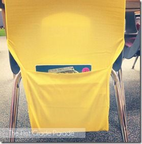 Target book covers can be used as chair pockets