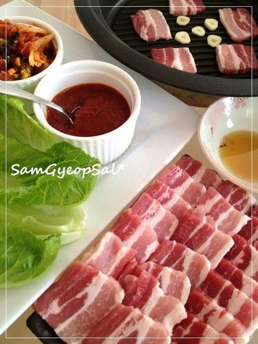 Samgyeopsal: Korean-style Pork Belly BBQ At Home                                                                                                                                                                                 More