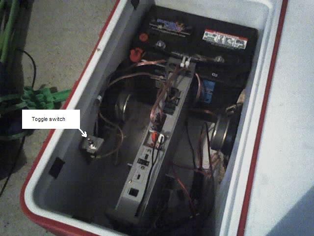 Cooler Radio