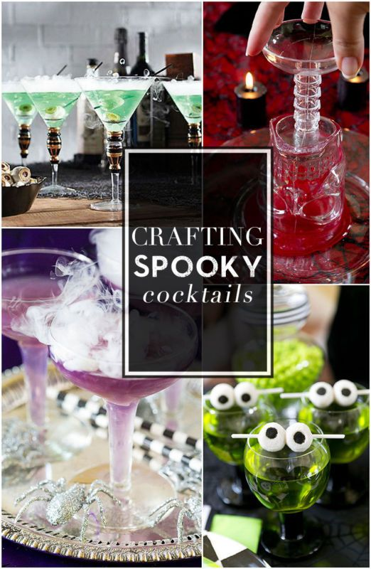 craft a spooky cocktail dry ice halloween cocktails and spooky halloween. Black Bedroom Furniture Sets. Home Design Ideas