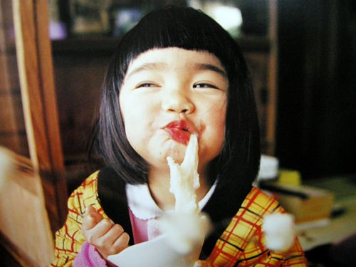 topographe: Kotori Kawashima's stunning portraits of his young daughterare collected in his book,Mirai Chan.