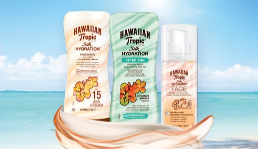 Un pizzico di cannella: Hawaiian Tropic Silk Hydration