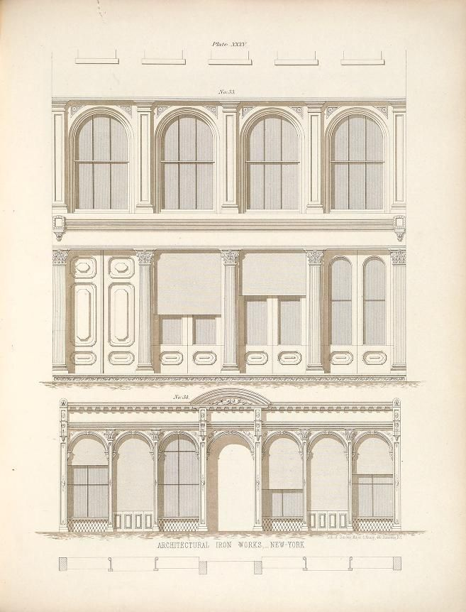 Illustrations of iron architecture, made by the...