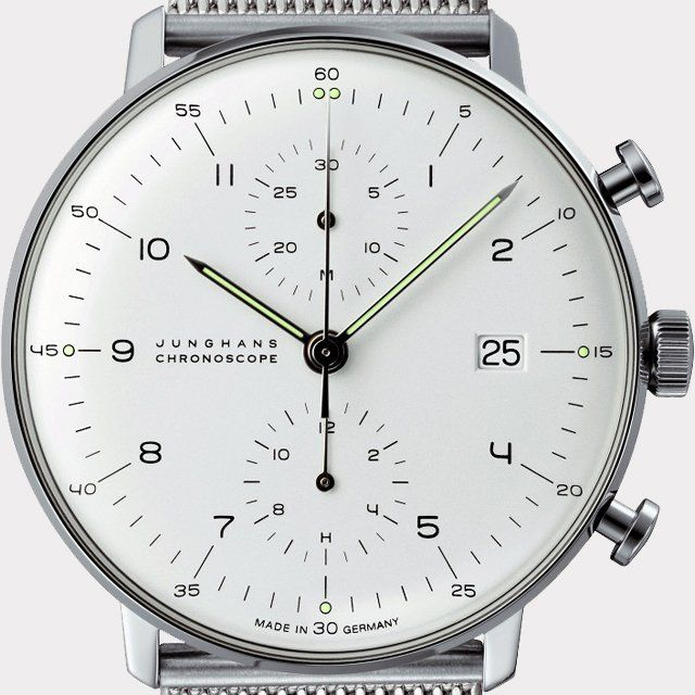 Fancy - Junghans Max Bill Chronoscope Watch