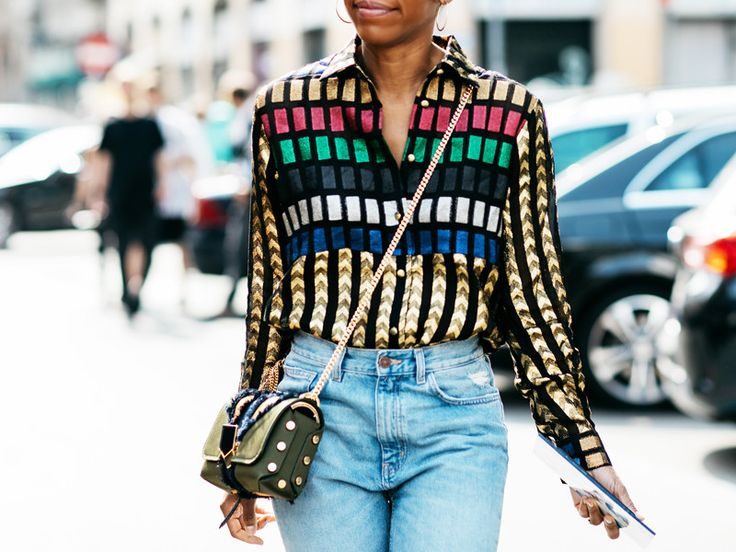 High-waisted skinny jeans require the right kind of top, and we found 13 perfect ones. Shop them here.