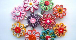 Como Fazer Artesanato Flor de Viés