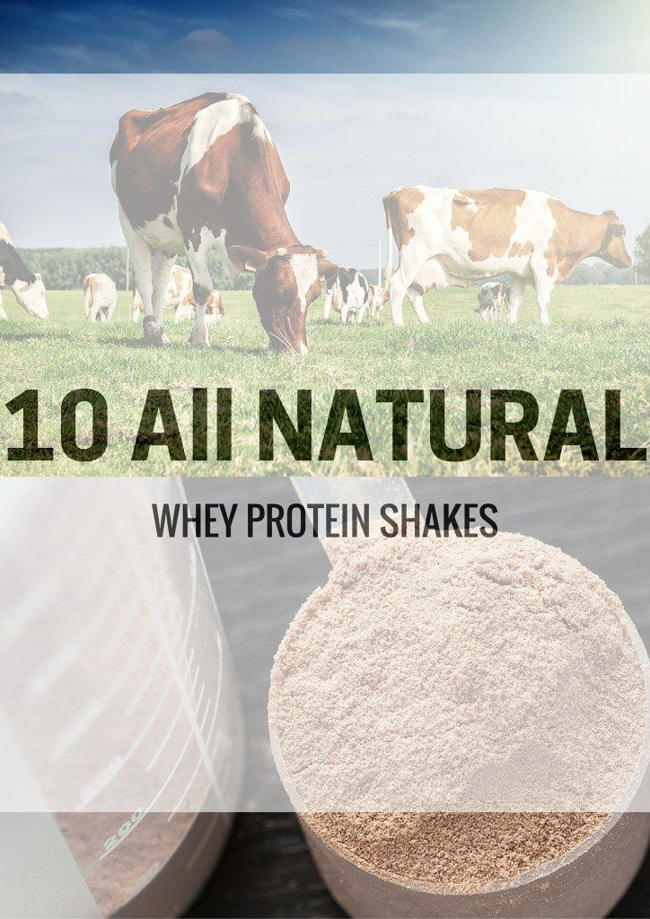 10 All Natural Whey Protein Shakes