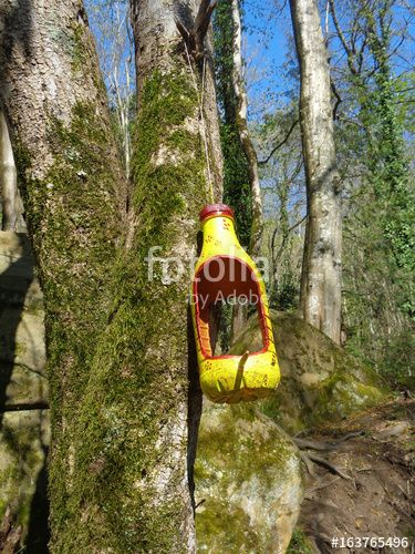 """Скачивайте роялти-фри фото """"Homemade bird feeder on mossy tree in spring forest"""", сделаную lana4ka по самой низкой цене на Fotolia.com. Полистайте наш банк изображений и найдите идеальную стоковую фотографию для вашего маркетингового проекта!"""