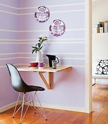 DIY furniture | breakfast nook from Ikea drop-leaf table