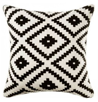 find this pin and more on stylish lifestyle pillow cover aztec pillow cover black and white throw - Black And White Decorative Pillows
