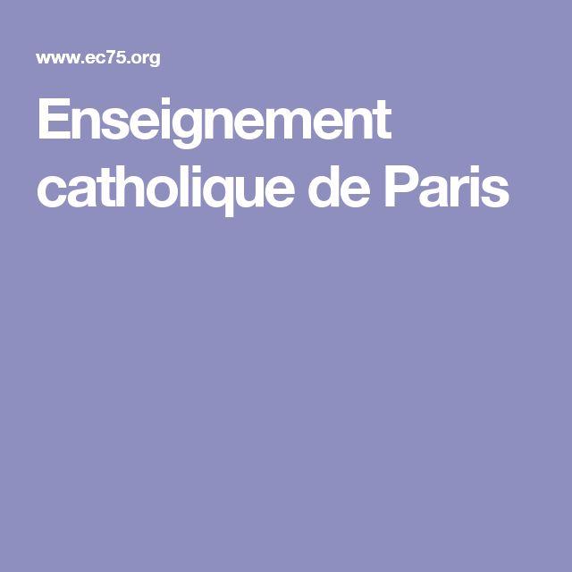 Enseignement catholique de Paris
