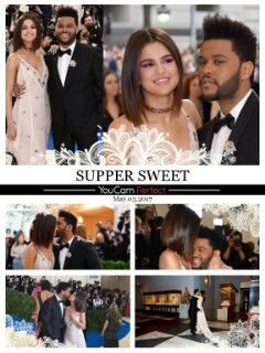 Selena Gomez and The Weeknd held hands as they made their red carpet debut at the 2017 Met Gala, which took place at the Metropolitan Mus...