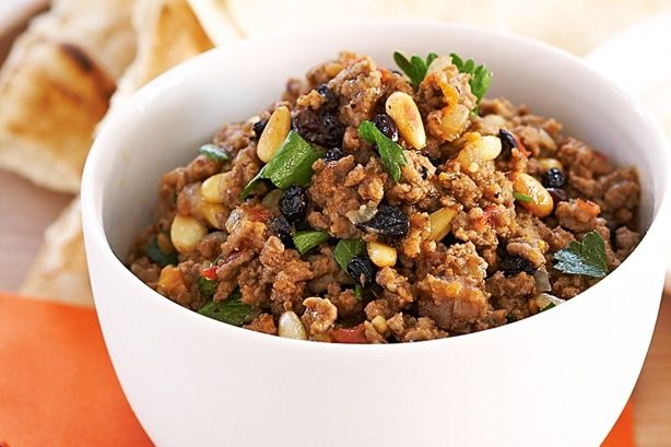 Yummy. We just add more verges! Spicy Mince.