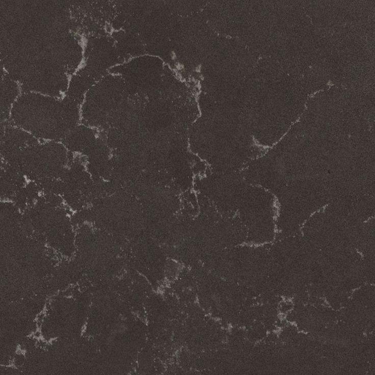 5003 Piatra Grey™ by Caesarstone - Smooth slate grey with chalky white veins.