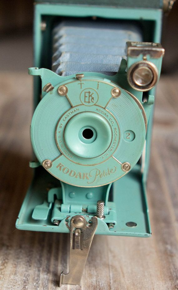 Vintage Green Kodak Petite Folding Camera with by ThePerfectLight, $175.00