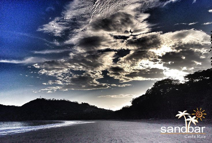 Sandbar is located in beautiful Playa Hermosa, Guanacaste, Costa Rica. #CostaRica #PuraVida #Guanacaste #Beaches #Beach #Playa #Travel #Vacation #Paradise