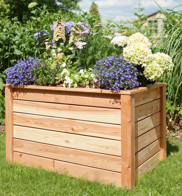 Kiehn Holz Hochbeet Bxtxh 105x65x60 Cm Larche Natur Online Kaufen Outdoor Decor Outdoor Storage Outdoor