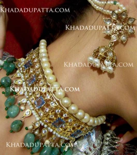 pakistani traditional choker | What Could Go Wrong with The Bridal Khada Dupatta