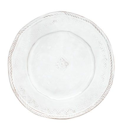 VIETRI - Bellezza White Dinner Plate