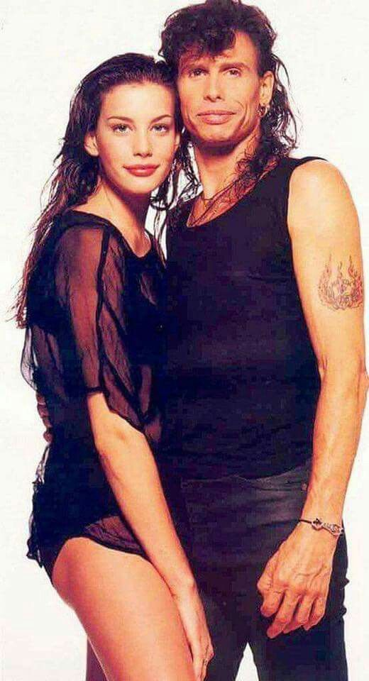 Father and Daughter  Liv Tyler and Steven Tyler