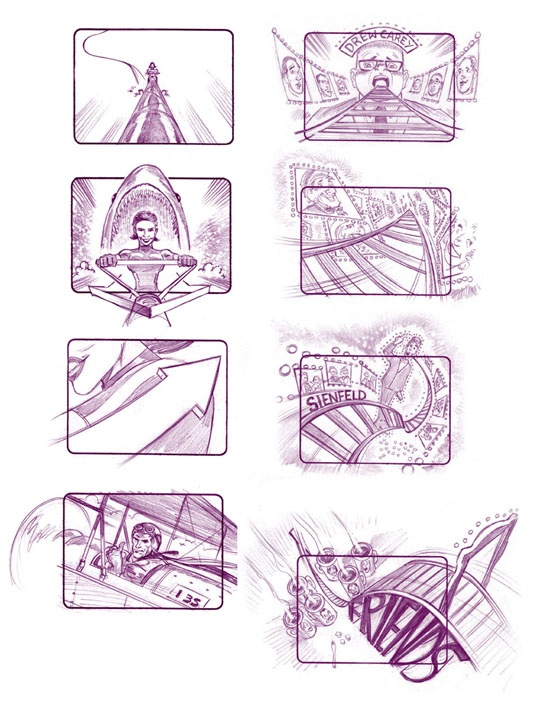19 best Commercial Storyboard Examples \ Studies images on - sample script storyboard