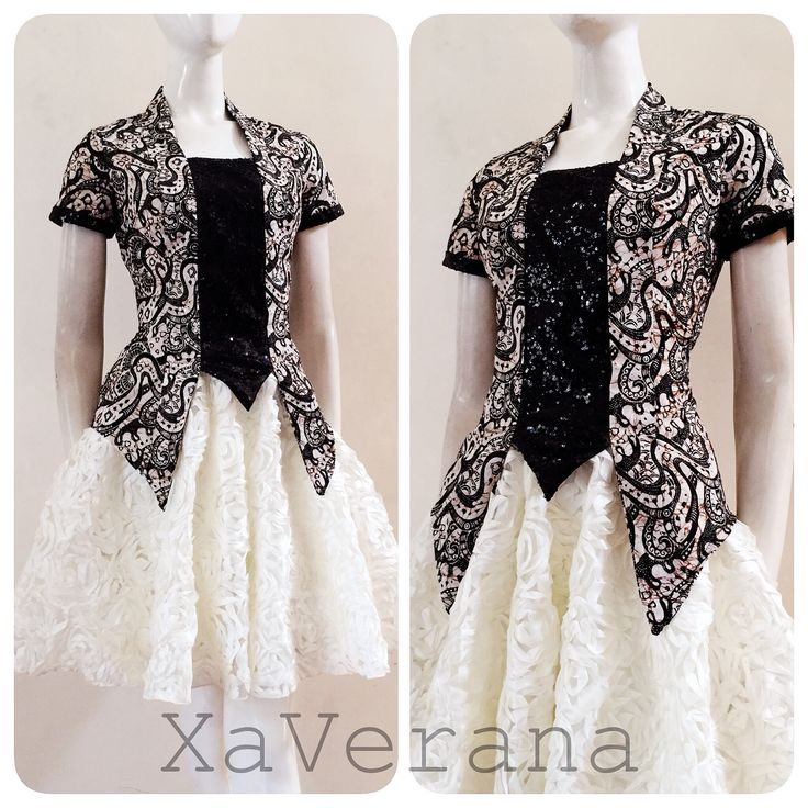 Kebaya kutubaru  See our collection at Instagram @xaverana