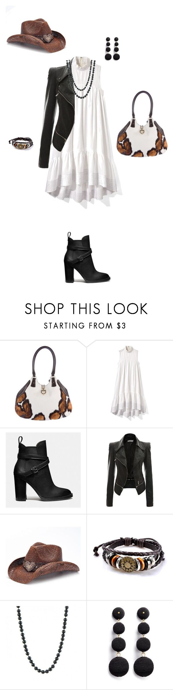"""""""Untitled #9321"""" by erinlindsay83 ❤ liked on Polyvore featuring Salvatore Ferragamo, 3.1 Phillip Lim, Coach, Peter Grimm and Kenneth Jay Lane"""
