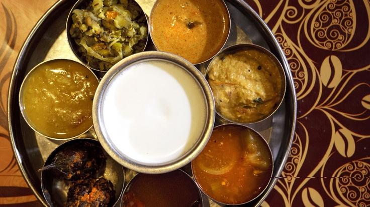 Comida típica del estado de Andhra Pradesh.
