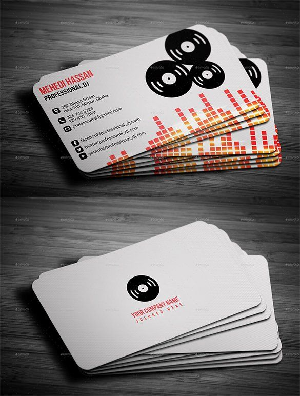 Dj Business Cards Check More At Https Cleverhippo Org Dj Business Cards Dj Business Cards Free Business Card Design Templates Create Business Cards