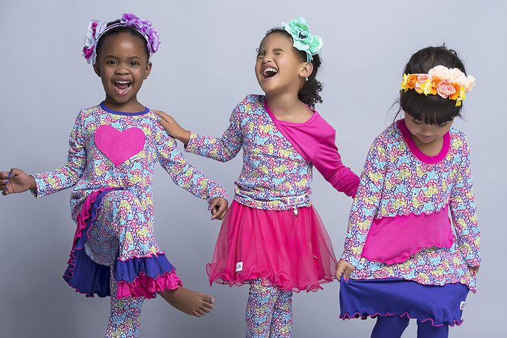 Beautiful prints, high-quality fabrics and the prettiest details make this fun, mix-and-match collection from Precioux something truly special. Each item is sure to make your little girl's heart skip a beat.